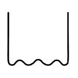 Перейти к Скоба волнообразная 0.6 мм (100 шт.)