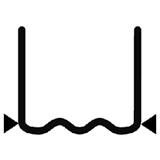 Перейти к Скоба волнообразная надрезанная 0.8 мм (100 шт.)
