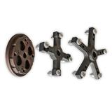 Перейти к Комплект адаптеров для центровки колес грузового транспорта (вал 42 мм)
