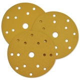 Перейти к Абразивный круг Yellow Diamond P180 на бумаге D150 мм / 15 отв. (100 шт.)